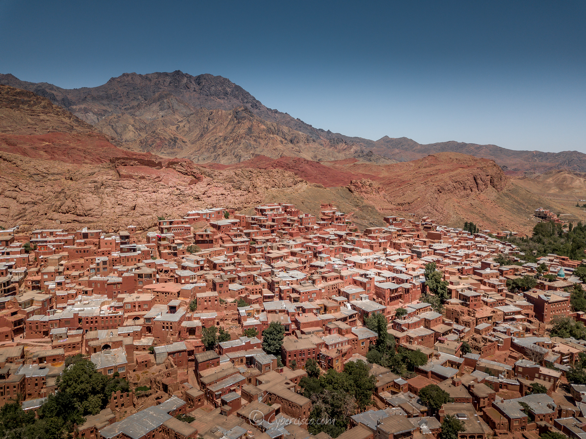 village of Abyaneh, Iran