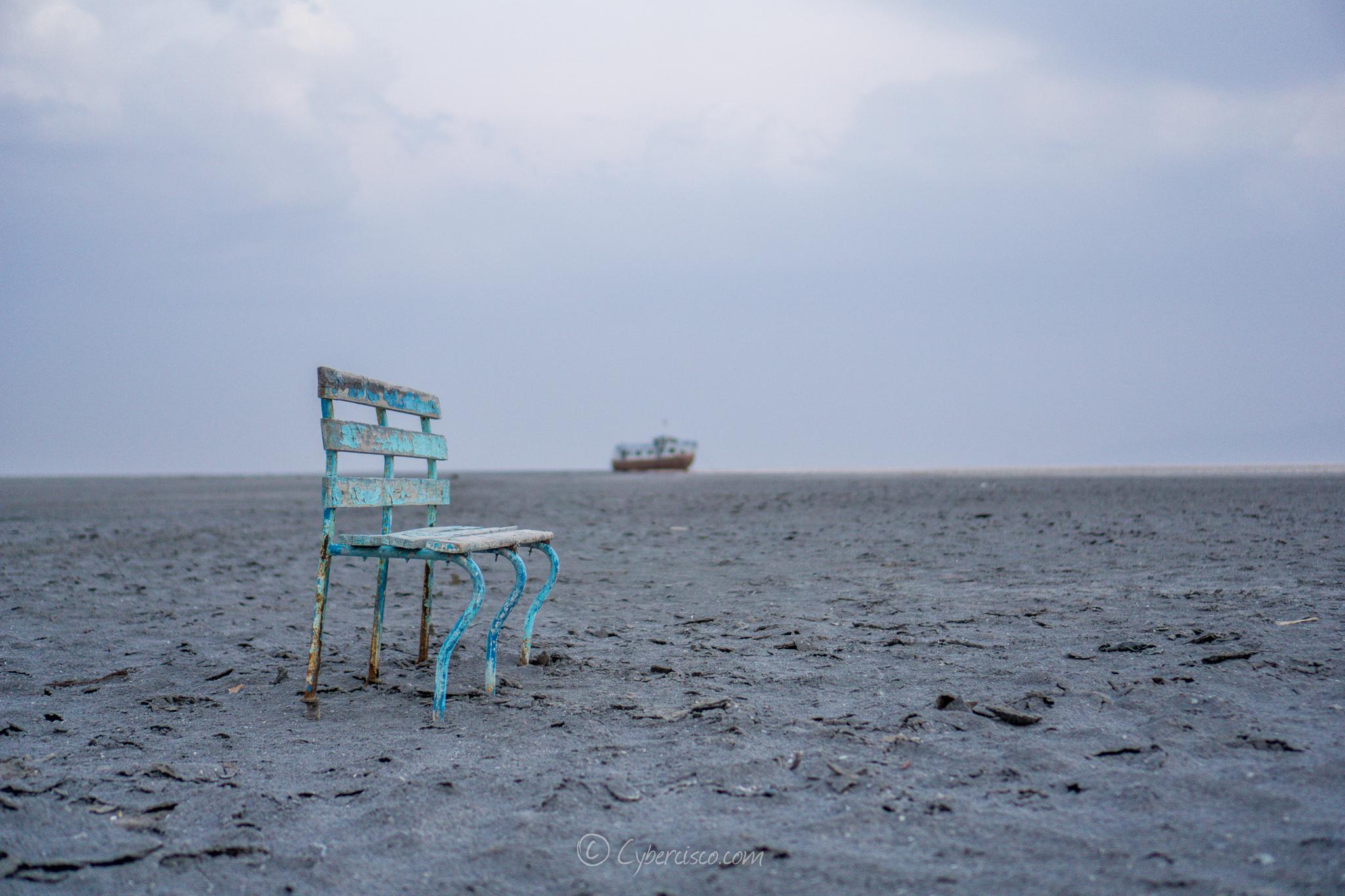 Salt lake, Iran