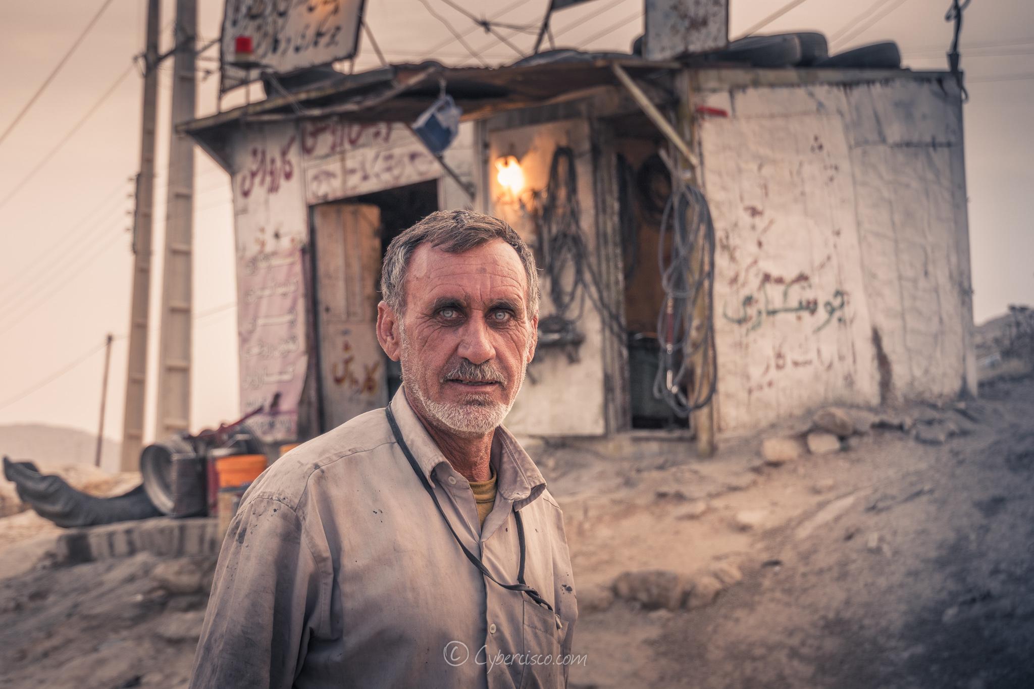Wolf man, Iran