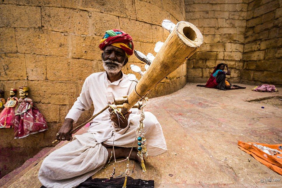 Rajsthani musician
