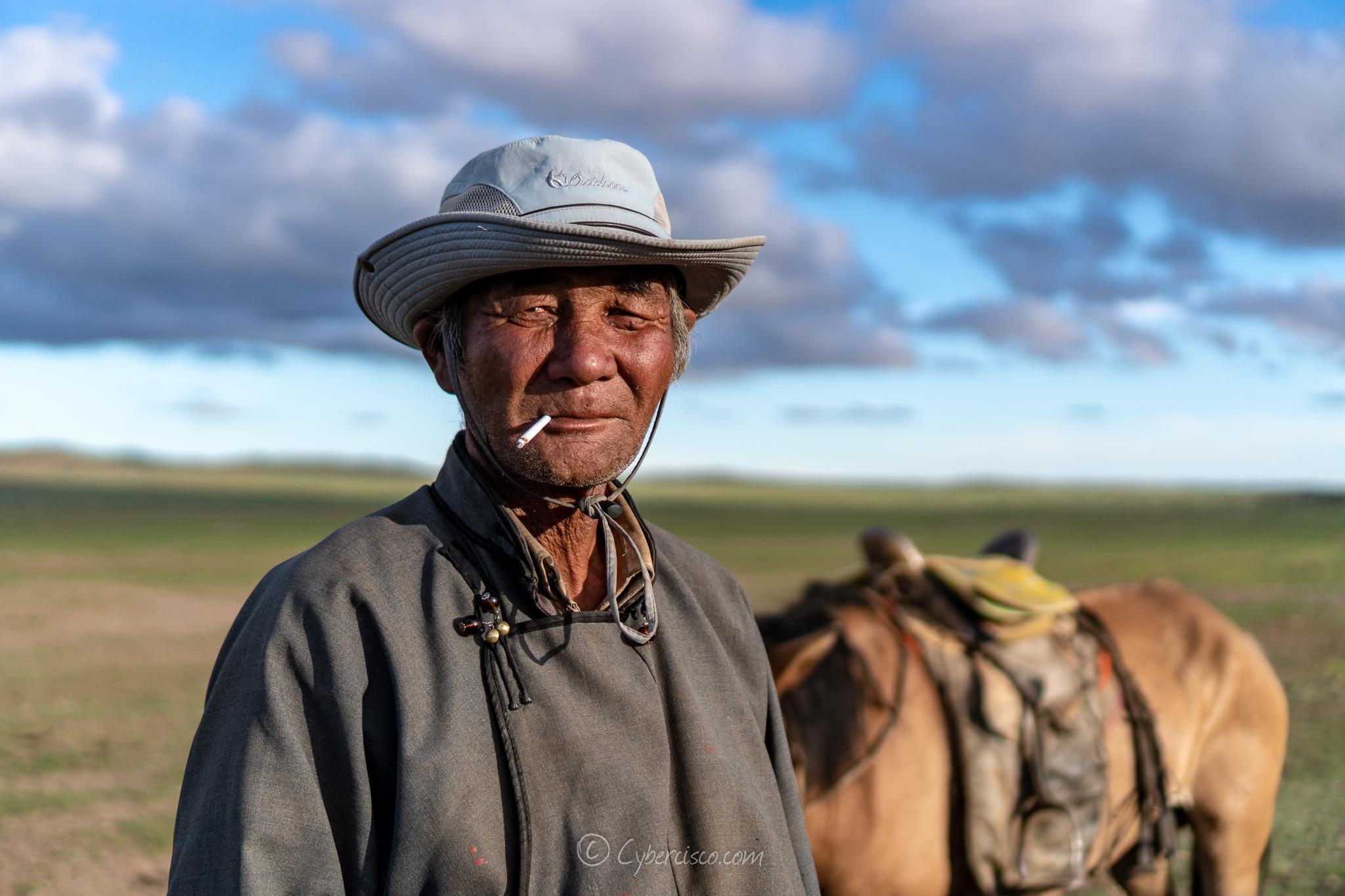 Mongolian herder
