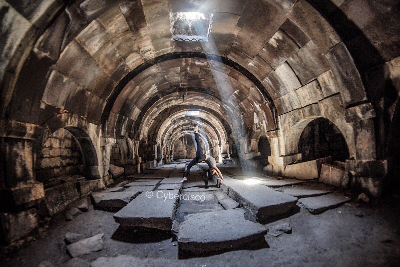 Abandoned caravanserai, Armenia