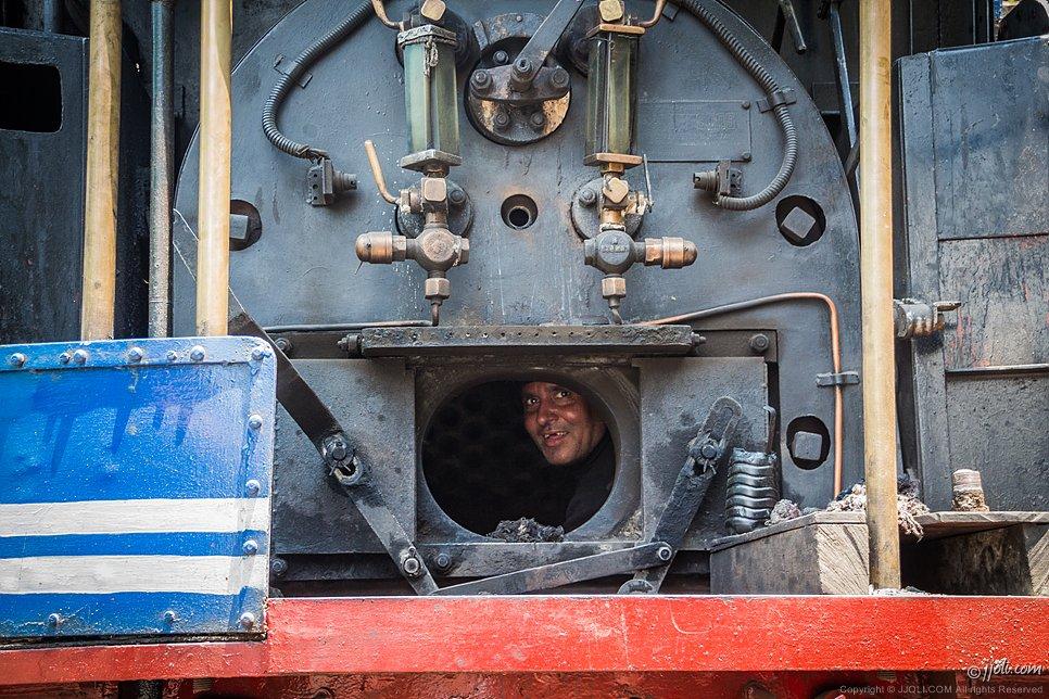 steam train mechanic, Sikhim